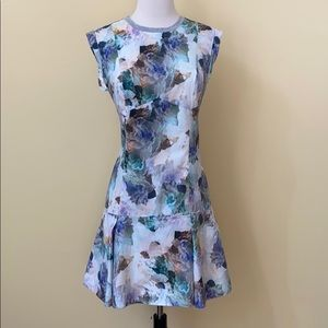 Rebecca Taylor Dresses - Rebecca Taylor Drop Waist Floral Sleeveless Dress